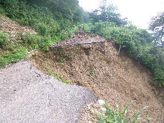 サムネイル:別又僧ヶ岳線 崩壊箇所復旧
